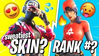 We ranked the sweatiest skins in fortnite (you were wrong)
