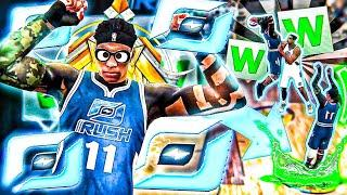 MY 99 OVERALL LEGEND PAINT BEAST BUILD DOMINATED THE 1V1 RUSH EVENT ON NBA 2K20 | 90+ BADGES
