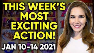 BEST BONUSES BIG WINS AND BIG HANDS Of The Week's Livestreams! January 10-14 2021!