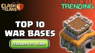 BEST Th8 War Bases [Top 10] with COPY LINK 2020 In Clash of Clans - COC