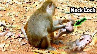 Hurt Nearly Shock Cos Mum Anna Fight On ALba | Young Mum ANNa Hit On ALBa Neck