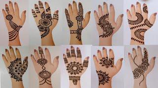 Top 10 Mehndi designs for back hand   मेंहदी डिजाइन  latest jewellery mehndi designs MehndiArt4You