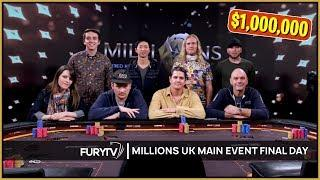 MILLIONS UK Poker Main Event 2020 - Episode 3 (Final Table)
