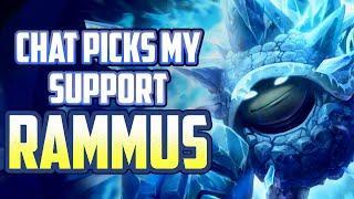 Rammus Support OP   Stream Highlights