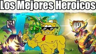 TOP 10 MEJORES HEROICOS DE DRAGON CITY