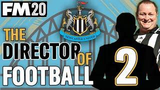 FM20 NEWCASTLE 2 | LEICESTER || DIRECTOR OF FOOTBALL CHALLENGE || Football Manager 2020