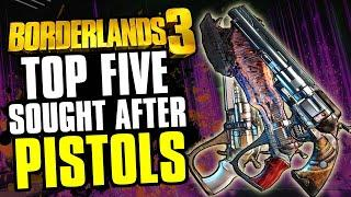 Top 5: Most Sought after Legendary Pistols in Borderlands 3 right now!