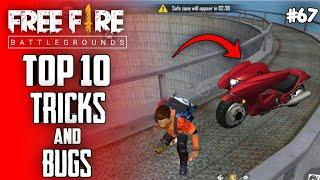 Top 10 New Tricks In Free Fire | New Bug/Glitches In Garena Free Fire #67