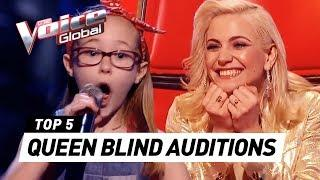 BEST QUEEN Blind Auditions in The Voice Kids