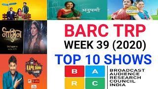 BARC Trp of Week 39 (2020)    Top 10 Indian Serials    TRP Of This Week