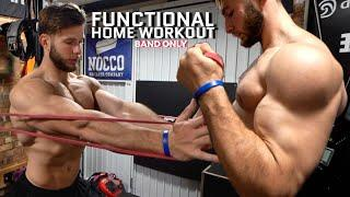 FULL BODY HOME WORKOUT   Functional Focus, Resistance Bands Only