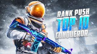 Road to Top 10 Conqueror Let's GOO!!  | PUBG Mobile | Mr Spike