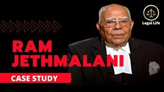 CASE STUDY - RAM JETHMALANI I SUPREME COURT OF INDIA I TOP LAWYER OF INDIA I BIOGRAPHY I LEGAL LIFE