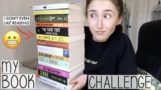 LOCKDOWN BOOK CHALLENGE   *ATTEMPTING* TO READ MY SUBSCRIBERS BOOK RECOMMENDATIONS FOR A DAY
