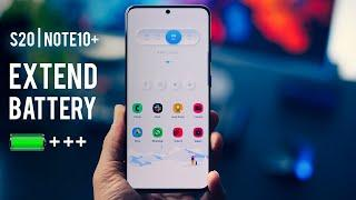 Extend Battery Life on Galaxy S20/Note10+