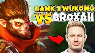 I stomped Broxah and Voyboy in CHALLENGER elo.. MY WUKONG IS TOO CLEAN - League of Legends