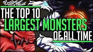 The Top 10 Largest Monsters in All of Monster Hunter! (Iceborne/Discussion/Lore/Fun) #monsterhunter