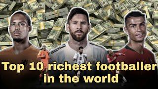 Top 10 richest footballer  in the world   most world Top information   top information