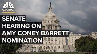 Senate holds a hearing on Supreme Court nomination of Amy Coney Barrett — 10/15/2020