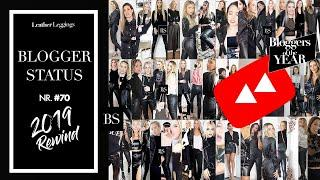 Leather Leggings YouTube Rewind 2019  - Leather Leggings for the Record - Haul OOTD