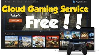 Top 5 Cloud Gaming Service For Any Device 2021!! Start For Free Right Now!!