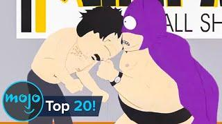 Top 20 Craziest South Park Fights