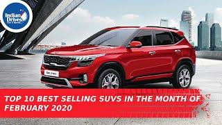 Top 10 Best Selling SUVs In The Month Of February 2020 In India