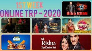 Top 10 Shows - First Week Online TRP 2020 - Indian Tv