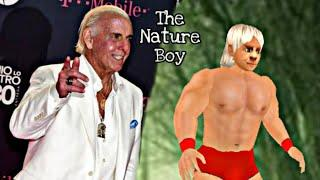 Wwe Top 10(+4) moves of Ric Flair in wrestling revolution 3d