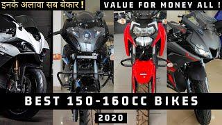 Top 5 Best 150cc To 160cc Bikes In India 2020 || Under 1 Lakhs To 1.80 Lakhs || My Opinion ??