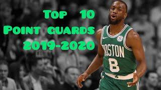 The top 10 point guards from 2019-2020 season