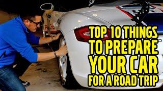 Top 10 Things to Prepare Your Car for a Road Trip