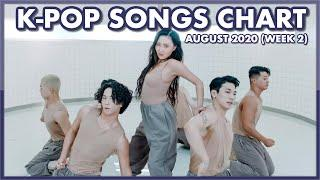(TOP 100) K-POP SONGS CHART   AUGUST 2020 (WEEK 2)