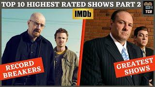 Top 10 Highest Rated TV Shows Of All Time(ON IMDb) | PART - 2 | Top 10 Greatest TV Shows Of All Time