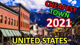 Top 10 Cheapest Towns to Live for Under $1,500 a Month in United States in 2021
