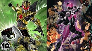 Top 10 Dark Power Rangers Alternate Versions - Part 2