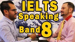 IELTS Speaking Part 1 – Band 8 Example with Subtitles