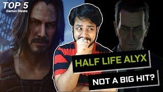 CD Project Red Not Scared of Half Life! - Top 5 Gaming News