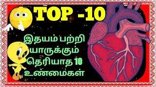 TOP-10 Fact news in heart/Anatomy of the Heart/Cardiology/histology of cardiovascular/Banu info tech