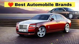 Top 10 Automobile Companies in the World    2020