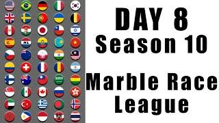 Marble Race League 2020 Season 10 Day 8 Marble Point Race in Algodoo / Marble Race King