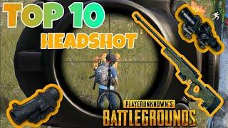 Top 10  headshot in pubg mobile ll dynamo and big player head shot in 2020 pubg