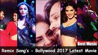 Top 10 Bollywood Remix Song's - 2017 - Party and Dance songs - Audio jukebox songs