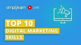 Top 10 Digital Marketing Skills 2020   Digital Marketing Skills For A Successful Career  Simplilearn