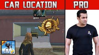 TOP 10 LOCATION TO FIND CAR IN PUBG MOBILE LITE | VARENGA MAP | GARAGE LOCATION || LoRD
