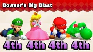 Mario Party The Top 100 MiniGames Luigi Vs Peach Vs Mario Vs Yoshi (Master Difficulty)