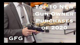 Top 10 New Gun Owner Purchases In 2020