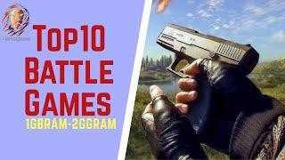 Top 10 Battle Royale Low End PC Games (1GBRam - 2GB Ram) 2020