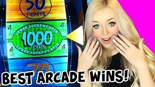 BEST ARCADE WINS EVER!! Lyssy Noel Top 10 Arcade Wins of 2019