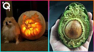 Amazing Food Art - People With Amazing Talent -Fruit and Vegetable Carving